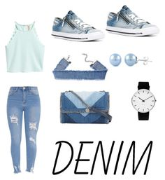"""DENIM"" by marierosee ❤ liked on Polyvore featuring Diesel, Rosendahl and STELLA McCARTNEY"