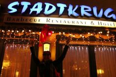 Zum Stadtkrug: Salute!  Best resturant in Baumholder