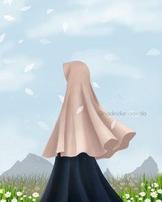 Read Hijab Fan Art from the story Muslim Family, Muslim Girls, Muslim Couples, Muslim Women, Islamic Girl Pic, Islamic Art, Manga Girl, Anime Art Girl, Abaya Designs Dubai