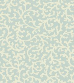 Home Decor Solid Fabric-Wavelry Coral Casade Mineral: home decor fabric: fabric: Shop | Joann.com