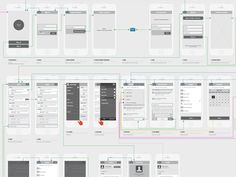Mobile User Flow designed by Awesome. Connect with them on Dribbble; Flow Design, Web Design, User Flow, Ui Web, Wireframe, Mobile Application, User Interface, Flowchart, Behance