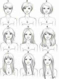 Stages of growing your hair out from a pixie haircut.