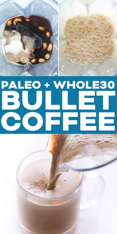 dairy free smoothie Paleo + Bulletproof Creamy Cashew Coffee Recipe - to support weight loss, brain function and sustained energy! Paleo Recipes Easy, Whole 30 Recipes, Dairy Free Recipes, Real Food Recipes, Gluten Free, Primal Recipes, Whole 30 Smoothies, Apple Smoothies, Whole 30 Drinks