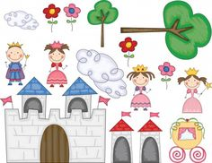 Fairy Tales - princess barrier game