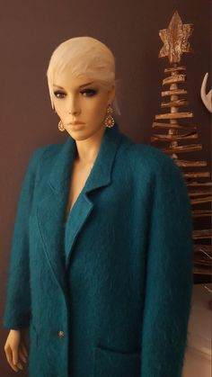 1960's  Mohair Ladies Coat by EmmasGraceVintage on Etsy
