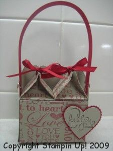 Valentine milk cartons