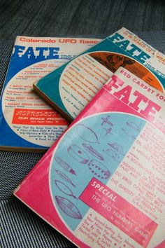 LOT of FATE Magazines from the 1950's by GlossyStones on Etsy, $6.00