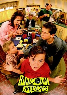 Malcolm in the middle / This tv series is hilarious! Malcolm In The Middle, The Middle Tv Show, Serie M6, Film Serie, Series Movies, Movies And Tv Shows, Tv Series, 90s Tv Shows, Critique Film