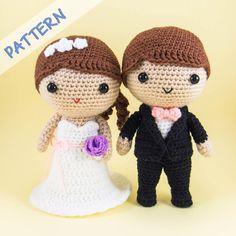 Bride And Groom Amigurumi Pattern Diy Wedding DecorationsWedding CraftsCrochet