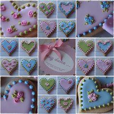 Perfect Wedding Cookies or Bridal Shower Cookies!!! Bebe'!!! Love these cookies!!!
