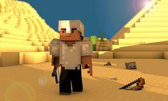 Descargar Steve en el Desierto Minecraft Fondos de pantalla