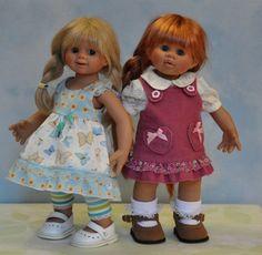 Вихтелепереодевание. Швейный топик. Wichtel / Коллекционные куклы Rosemarie Anna Muller / Бэйбики. Куклы фото. Одежда для кукол