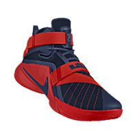 I designed the dark blue Arizona Wildcats Nike men's basketball shoe with cardinal red trim.