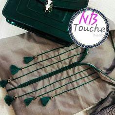 #جلابة_الربيع #جلابية #قفطان_مغربي #المغرب #مغربيات #الاناقة #caftan #djellaba #lux #top #new_colection Chudi Neck Designs, Salwar Neck Designs, Churidar Designs, Kurta Neck Design, Neckline Designs, Dress Neck Designs, Sleeve Designs, Kurti Patterns, Embroidery Suits