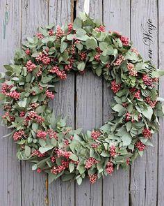 Wreath krans kranz Eucalyptus Pepperberries