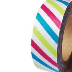 Festive Birthday Stripes