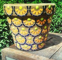 Mosaic flower pots                                                                                                                                                                                 More