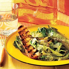 Grilled Caesar Salad | MyRecipes.com