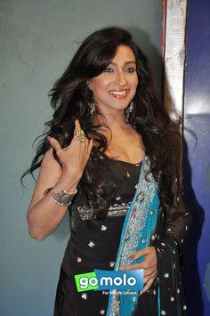 Rituparna Sengupta on the sets of Hindi movie 'Extraordinary' in Mumbai