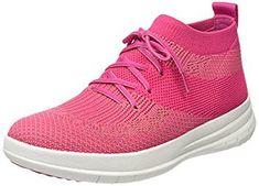 35e52e1061b175 FitFlop UBERKNIT™ Slip-On Hi-Top Sneaker Metallic Pink - Stöckelwild  Fashion