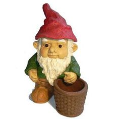 Ah a lawn gnome.  Always wanted one of these guys.