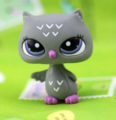 Littlest Pet Shop - Night Owl Petshop Loose Figure Rare