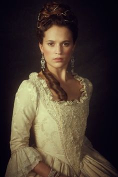 Alicia Vikander - A royal affair - Costume designer : Manon Rasmussen Alicia Vikander, A Royal Affair, Period Costumes, Movie Costumes, 18th Century Dress, Period Outfit, Madame, Marie Antoinette, Historical Clothing