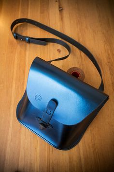Blue Bag Desire/ Woman Leather Bag / Leather от DNCraftsRussia
