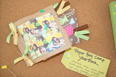 year book for girls camp!