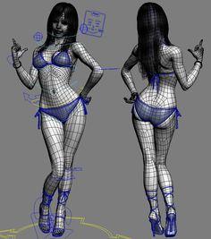 tu te souvnes quand tu disais et que tu actais en posing arthur caallait mieux qu'en dessin : c'est le momentde tout utiliser tracté par ску льптуоа 3d Model Character, Character Poses, Female Character Design, Character Modeling, Body Anatomy, Human Anatomy, Maya Modeling, Modeling Tips, 3d Pose