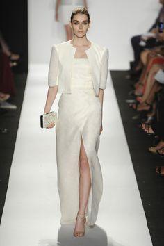 Défilé Dennis Basso, prêt-à-porter printemps-été 2015, New York. #NYFW #Fashionweek #runway
