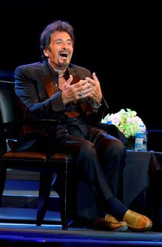 """Acting Legend Al Pacino Performs """"Pacino: One Night  Only"""" at The Mirage in Las Vegas on Aug 16, 2014 (Photo credit: Bryan Steffy / WireImage / www.BryanSteffyPhoto.com)."""
