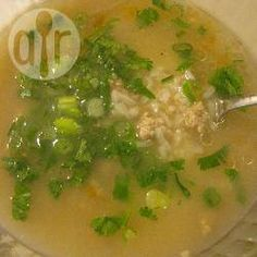 """Khao Tom Moo (Rice Soup with Pork) I add sitemizeKhao Tom Moo (Rice Soup with Pork)"""" recipe to my site for more delicious recipes  http://easyrecipesonlinee.blogspot.com/2017/12/khao-tom-moo-rice-soup-with-pork.html#2441984716210460921"""