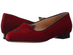 CHARLOTTE OLYMPIA Kitty Flats. #charlotteolympia #shoes #flats
