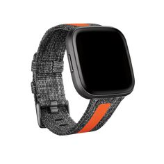 Fitbit Versa 2™ Smartwatch   Shop Fitbit App, Fitbit Charge, Brown Wedding Hair, Versa Versa, Suede Bracelet, Track Workout, Fitness Tracker, Smart Watch, Wristlets