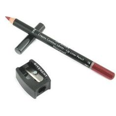 Lip Liner Pencil Waterproof (With Sharpener) - # 8 Lip Coffee - 1.1g-0.03oz