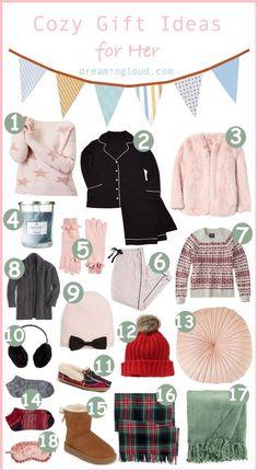 cozy gift ideas for her dreamingloudcom