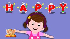 I'm with Happy - Nursery Rhyme with Karaoke Kids Rhymes Videos, Rhymes For Kids, Kids Nursery Rhymes, Karaoke, Viral Videos, Happy, Rhymes For Children