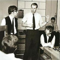 Love and Beatles are eternal. likes · talking about this. A page for all the people who love the Beatles and want to share experiences,. George Martin Beatles, Liverpool, Ray Charles, Abbey Road, Alter Ego, John Lennon, The Beatles Members, 5th Beatle, Rock And Roll