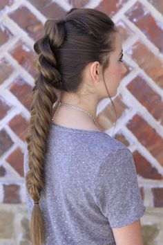 Pull-Through Fishtail Braid Combo  #hairstyles #hairstyle #cutegirlshairstyles #CGHpullthrufishtail #fishtail #pullthrubraid #braid