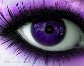 eyeshadow purple