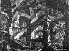 Piranesi // this isn't my usual taste, but I remember seeing this picture at an art museum years ago and I really liked it but I had forgotten who the artist was and I've been looking for these drawings again AND I FOUND THEM and I so excited right now