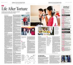 Life After Torture: A Family Seeks Normalcy after enduring a decade of extraordinary persecution in China Epoch Times #FalunDafa #newspaper #editorialdesign
