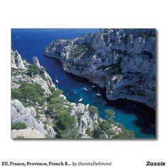 EU, France, Provence, French Riviera Coast, 2 Postcard