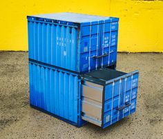 Shipping Container File Cabinet by philfoss on Etsy