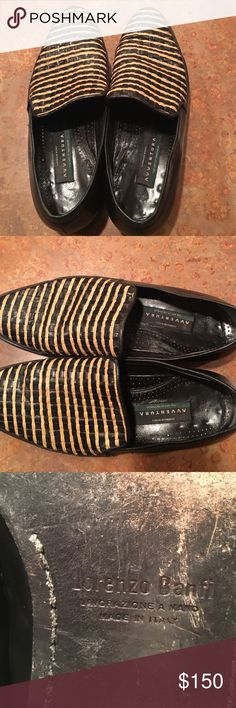 Lorenzo Banfi men's shoes size 9.5 Classic handmade Italian shoes made with old world meticulous production techniques and supreme craftsmanship. Lorenzo Banfi Shoes