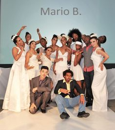 Model's rockin' the Show at Mario B's All White show!