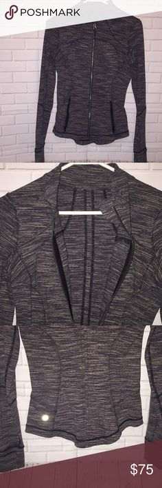 Lululemon jacket Mint condition! Worn once! Extremely flattering on. I'll be posting more lulu throughout the next few days, mostly tops and a few jackets. lululemon athletica Jackets & Coats