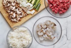 Japanese steakhouse style Hibachi Steak and Shrimp recipe made right in your own kitchen! Hibachi Shrimp, Hibachi Chicken, Hibachi Steak, Hibachi Recipes, Steak Recipes, Shrimp Recipes, Wedding Food Menu, Yum Yum Sauce, Steak And Shrimp
