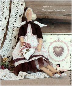 Куклы Тильды ручной работы. Ярмарка Мастеров - ручная работа Ангел вдохновения Ева.. Handmade.
